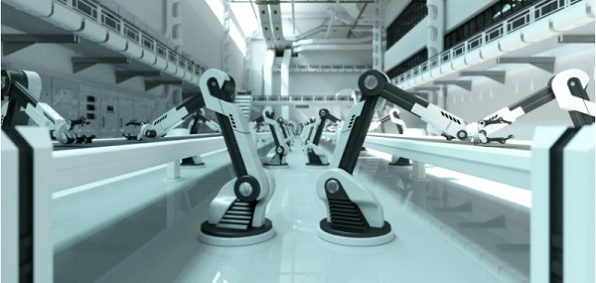 Robots have taken over many manufacturing jobs, but those remaining for humans are filling up fast in a strong economy.