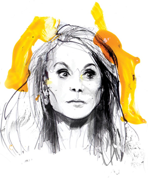 SPLC's sketch of Pamela Geller