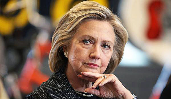 2016 Democratic presidential candidate and former Secretary of State Hillary Clinton