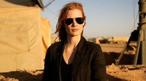 "Jessica Chastain as ""Maya""in ""Zero Dark Thirty"""