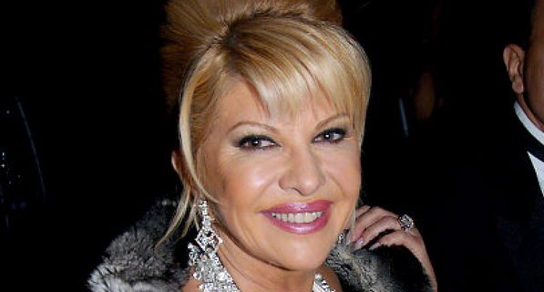 Ivana Trump ivana defends trump against 'rape' claims