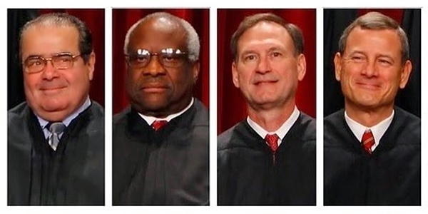 4 Supremes alert America: 'Trouble is coming'