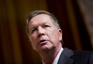 Ohio Republican Gov. John Kasich