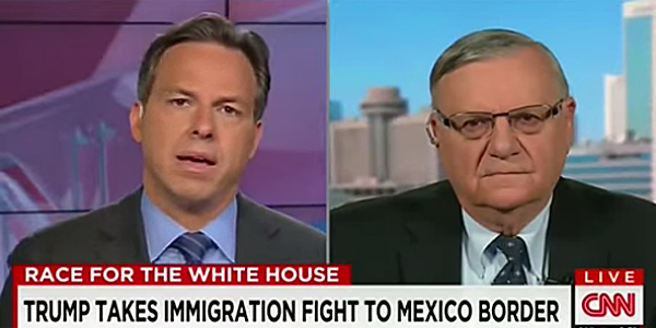 CNN's Jake Tapper and Sheriff Joe Arpaio