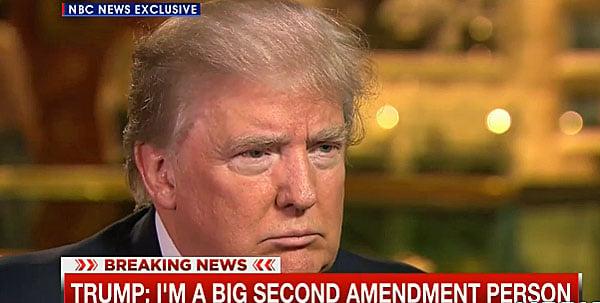Donald Trump steamrolls NBC reporter