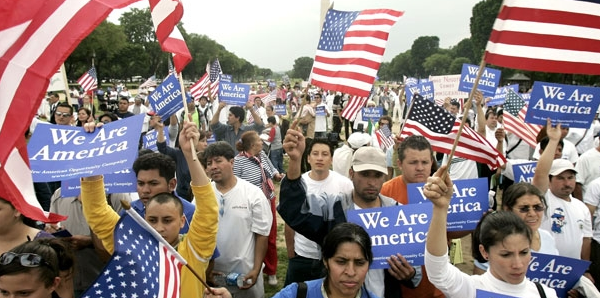 Illegal immigrants are getting a push from the White House to demand citizens' rights.