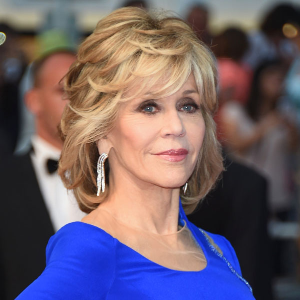 Surprising Jane Fonda 2017 Cheveux Yeux Pieds Jambes Style Poids Et Hairstyle Inspiration Daily Dogsangcom