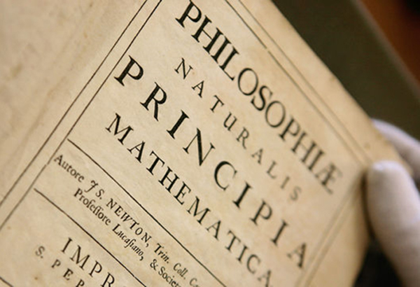 "Newton's book, ""Philosophiae Naturalis Principia Mathematica,"" was first published in 1687. It is also known as the ""Mathematical Principles of Natural Philosophy."" It remains one of the most important books ever published. Edmond Halley paid for its publication with his own money."