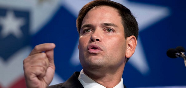 Sen. Marco Rubio, R-Fla., sponsored the Gang of Eight's bill which included an expansion of the guest-worker program. Rubio also told Sean Hannity last week he would 'hate' to vote against funding President Obama's refugee resettlement program.