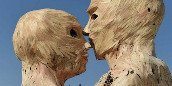 Burning Man events are marked by a variety of artistic expressions.