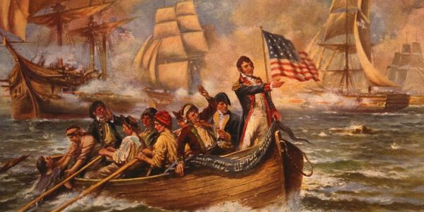 Defeating the British in Lake Erie