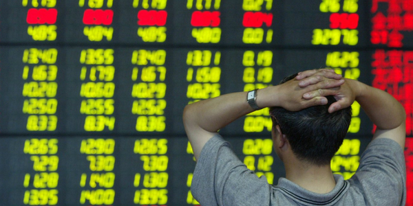 China's market opened on a downswing for the second day in a row.
