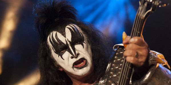 KISS rocker Gene Simmons