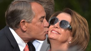 House Speaker John Boehner, R-Ohio, and House Minority Leader Nancy Pelosi, D- Calif.
