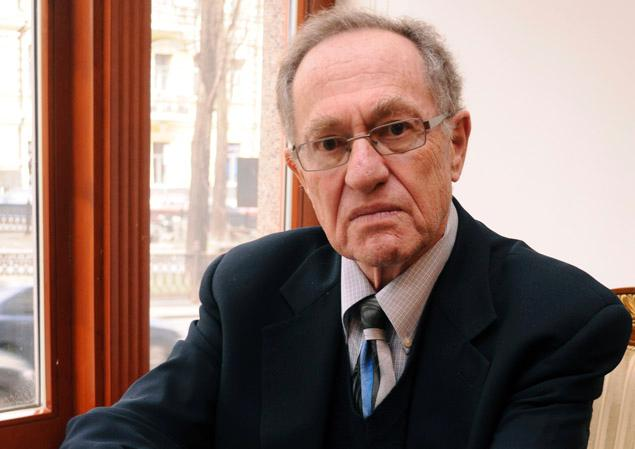 Harvard Law School professor Alan Dershowitz