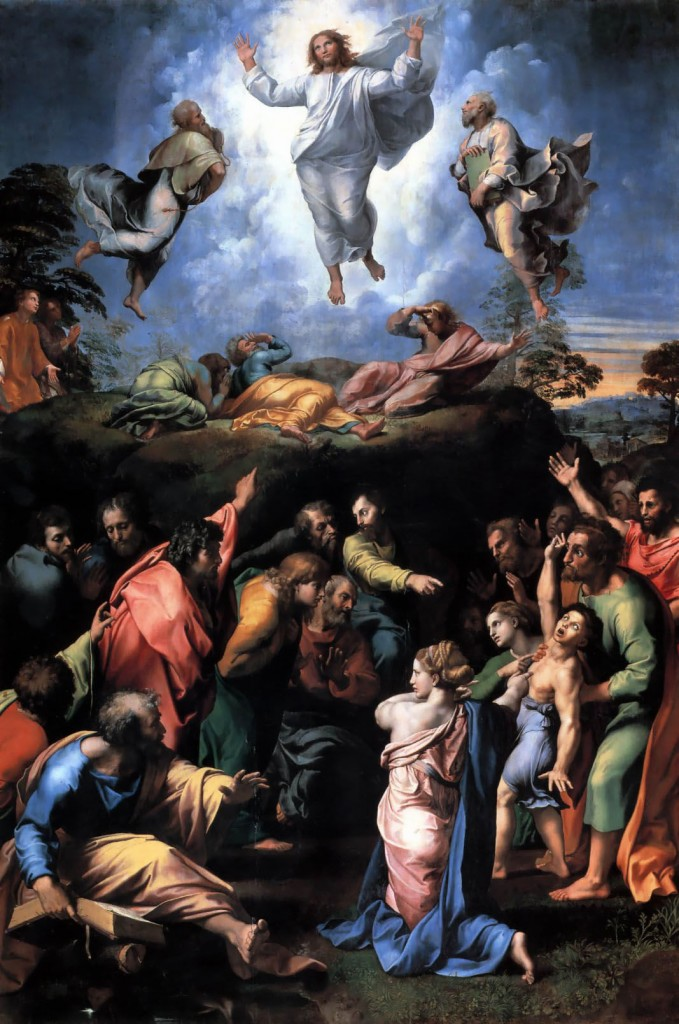 """The Transfiguration"" by Raphael"