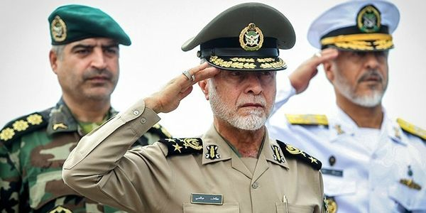Ataollah Salehi, commander of Iran's army, said a nuclear deal will not prevent the destruction of Israel. He made the comments to Iran's state-run news agency, Fars, Sept. 22, 2015. (Image: FNA)