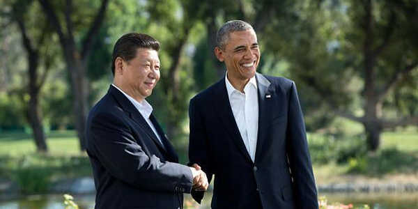 President Obama with China President Xi Jinping (Official White House photo: Pete Souza)