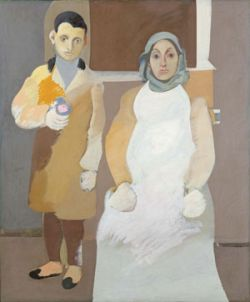 """The Artist and His Mother"" by Arshile Gorky"