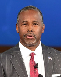 Retired neurosurgeon Ben Carson