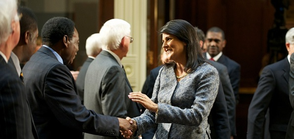 "GOP Gov. Nikki Haley has been a ""big disappointment"" to South Carolinians seeking to stop the resettlement of Muslims from the Middle East in their state."