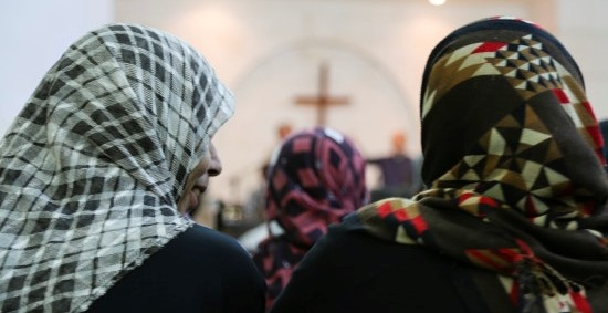 Hundreds of thousands of Syrian Christians have been forced to flee their homes.