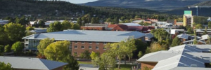 Northern Arizona University was the site of a shooting that left one dead and three injured. (Credit: NAU via NBC News)
