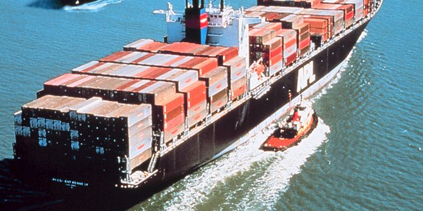 Cargo ship (Credit: Wikipedia)