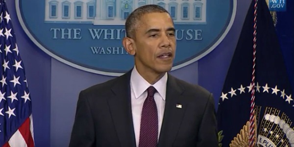 President Obama calls for new gun-control laws from the White House, Thursday, Oct. 1, 2015, after the Umpqua Community College massacre in Roseburg, Oregon. (Image: WhiteHouse.gov)