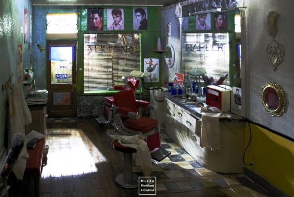 The Barber by Michel Perez