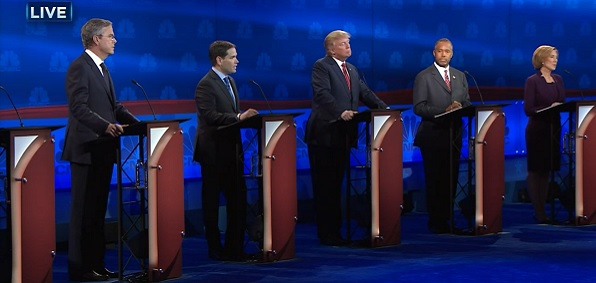 GOP debate on Oct. 28
