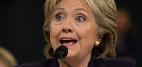Hillary Clinton testifies Oct. 22, 2015, before the House Select Committee on Benghazi