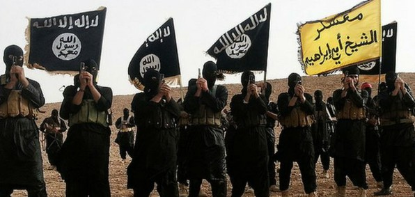 ISIS fighters (Wikimedia)