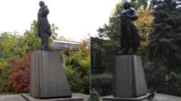 Odessa dumps Lenin (with help of sculptor Alexander Milov): prefers science fiction to Marxism