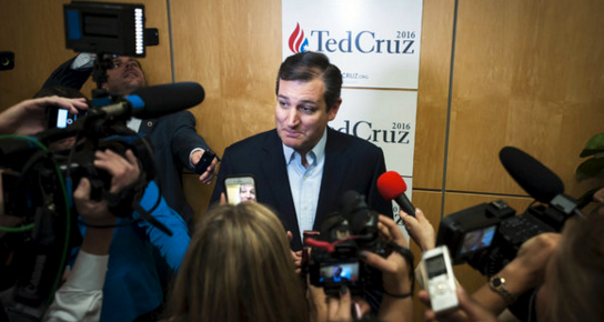 Sen. Ted Cruz, R-Texas, has been taking a harder stance on immigration issues and gaining in the polls in several key primary states such as Iowa.