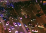 Chicago protesters shut down key roads, as police circled. (Credit: Twitter)