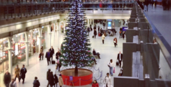 A mall in Staten Island is under fire for booting a Christmas tree outside.