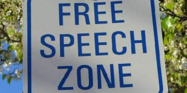 Image result for Images of free speech disallowed