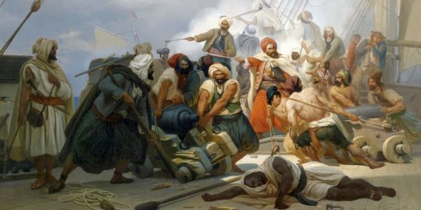 Muslim Barbary pirates