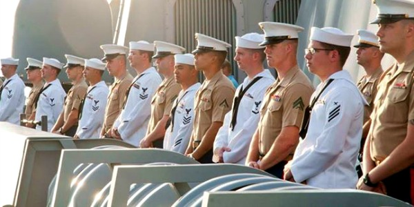A study by the American Psychological Association says male sexual assault is underreported in the the U.S. military (Photo: Faebook, U.S. Navy)
