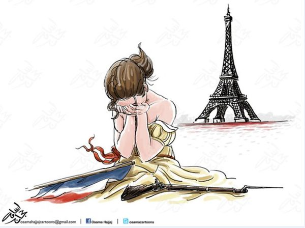 Nov 20, 2015 - from artnet -- Paris weeps
