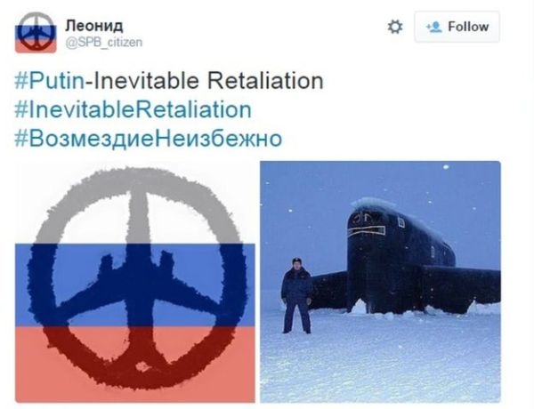 Russian mock version of Paris peace