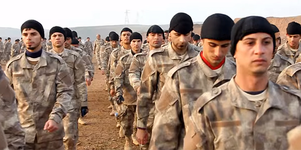 Assyrian Christians in Iraq prepare to fight ISIS (Photo: YouTube screenshot)