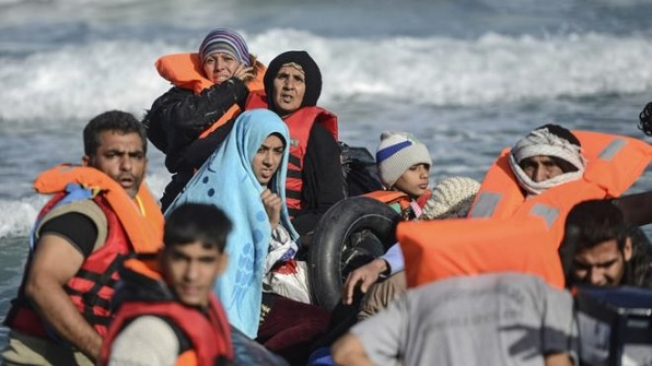Muslim migrants arriving in Europe by the thousands every day. Up to a million have arrived this year alone.