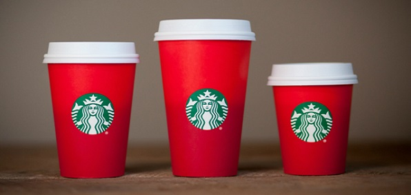 The Starbucks' cup controversy goes on.