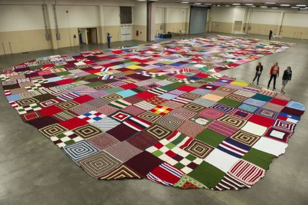 Guinness World Record-breaking Christmas stocking
