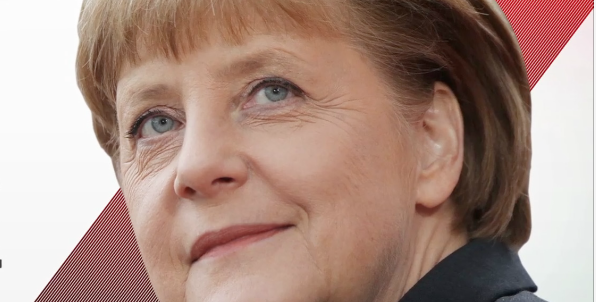 "German Chancellor Angela Merkel (Credit: Time ""Choice"" story)"