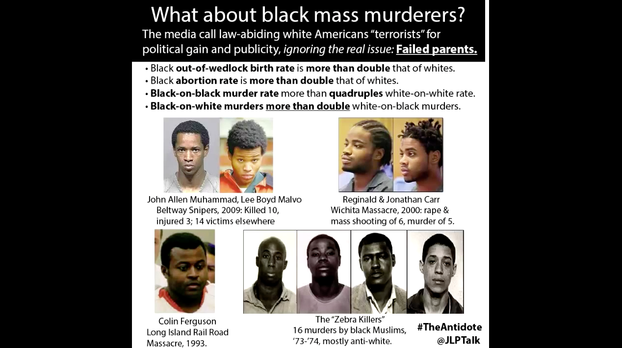 media ignore black mass shooters