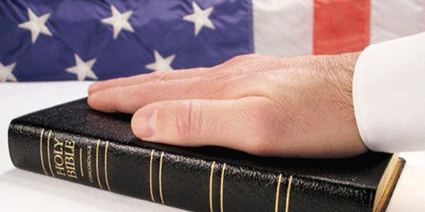Taking an oath