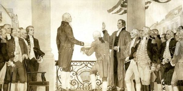 George Washington's oath of office
